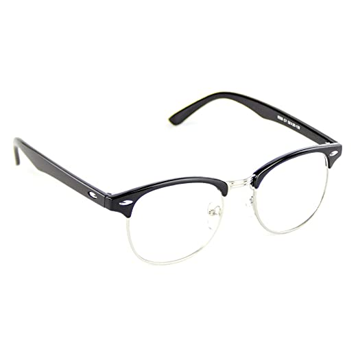 fe62daa8f4 Amazon.com  Cyxus Clear Lens Plain Glasses
