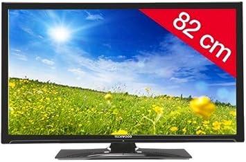 Techwood televisor LED t32bmspx12 + Soporte de Pared ES200 HD TV ...