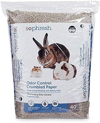 Amazon Com So Phresh Crumbled Paper Small Animal Bedding 40 L Kitchen Dining