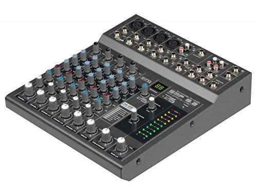 SynQ SMP 8.2 – Mezclador para DJ (20-20000 Hz)