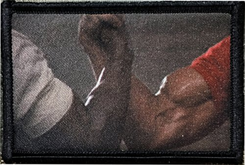 Predator Movie Biceps Morale Funny Military Tactical Patch 2x3