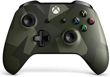 Microsoft - Mando Inalámbrico Armed Forces, Edición Especial (Xbox One), multicolor: Microsoft: Amazon.es: Electrónica