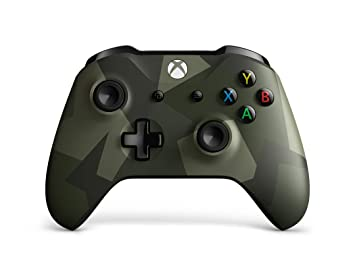 Microsoft - Mando Inalámbrico Armed Forces, Edición Especial (Xbox One), multicolor