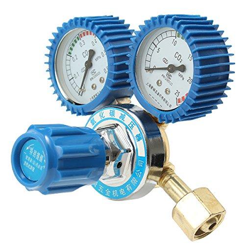 Argon CO2 Pressure Reducer Mig Tig Flow Control Valve Regulator for Gauge Welding