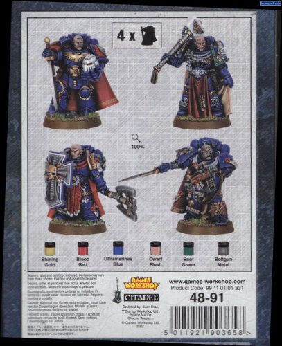 Space Marines Masters of The Chapter 40K