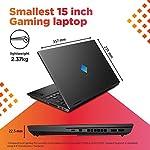 HP Omen 15.6-inch FHD Gaming Laptop (Ryzen 5-4600H/8GB/512GB SSD/Windows 10/NVIDIA GTX 1650ti 4GB/Shadow Black/2.36 kg), 15-en0001AX