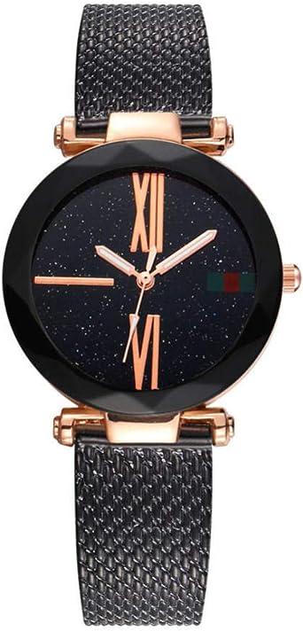 Reloj Mujer Pulsera Regalo Mujer Reloj Diamante Estrellado Reloj ...