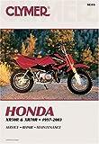 img - for Clymer Honda Xr50R & Xr70R, 1997-2003 (Clymer Motorcycle Repair) book / textbook / text book