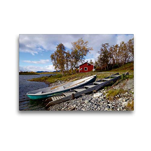 Calvendo Maison au E8 de Muonio Selon Kilpisjärvi, 45x30 cm