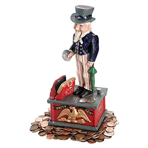 Madison Collection Uncle Sam Bank