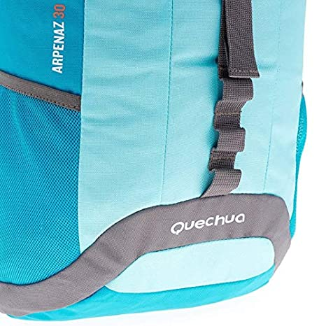 c609d517b75bc Quechua NH100 30 Litre Hiking Backpack - Light Blue  Amazon.in  Bags ...