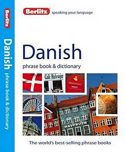 Berlitz Phrasebook Danish - Berlitz Danish Phrase Book & Dictionary