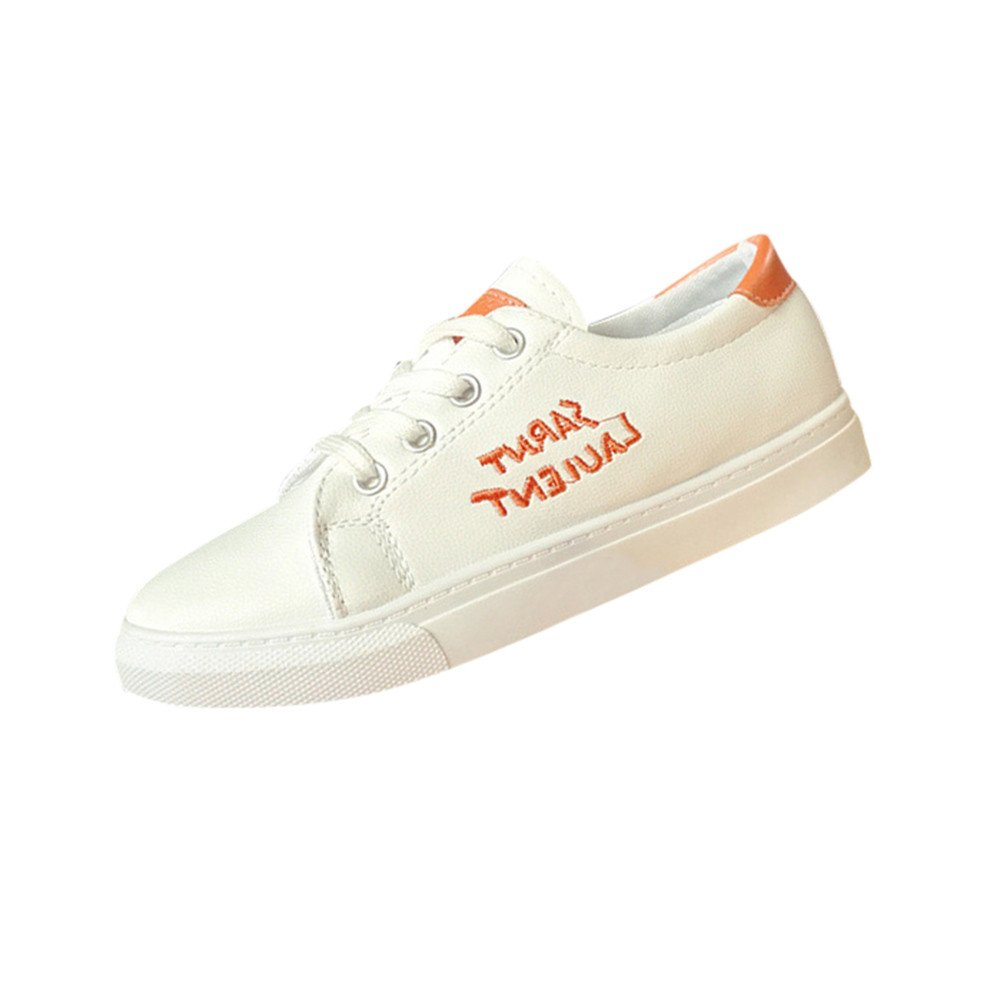 Chaussures Femmes, Yesmile Mode Femmes Orange Solide Couleur Skate Skate Chaussures Yesmile Gym Chaussures De Course Chaussures Casual Chaussures Orange 6ad722d - conorscully.space