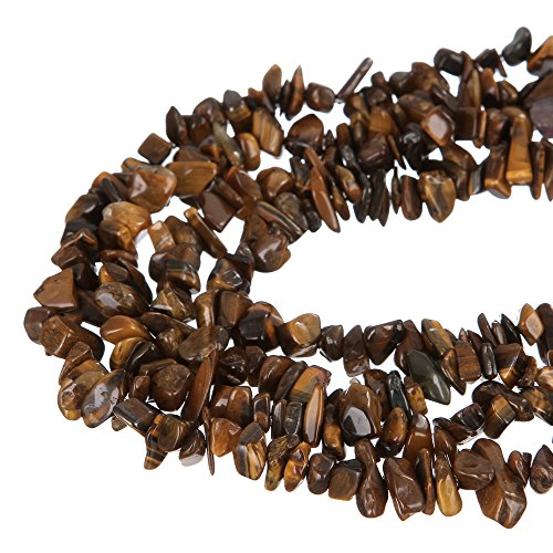 wanjin Nice Yellow Tiger Eye Chips Beads 5~8mm 34 Inches per strand For Jewelery Making