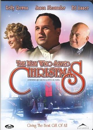 Amazon.com: The Man Who Saved Christmas: Sturla Gunnarsson, Jason ...