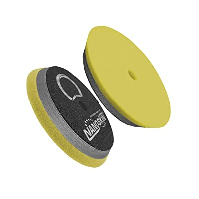 "Nanoskin 6"" HD Hybrid Foam PAD - Cutting - Yellow [NAA-HDHFP-61]: Automotive"