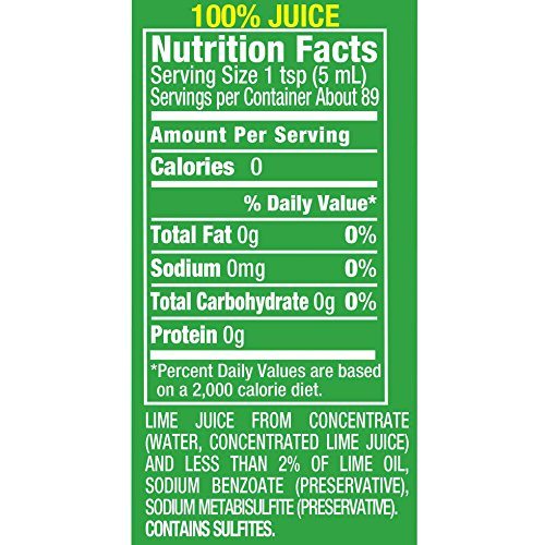 ReaLime 100% Lime Juice, 15 Fluid Ounce Bottle (Pack of 12) by Realime (Image #1)