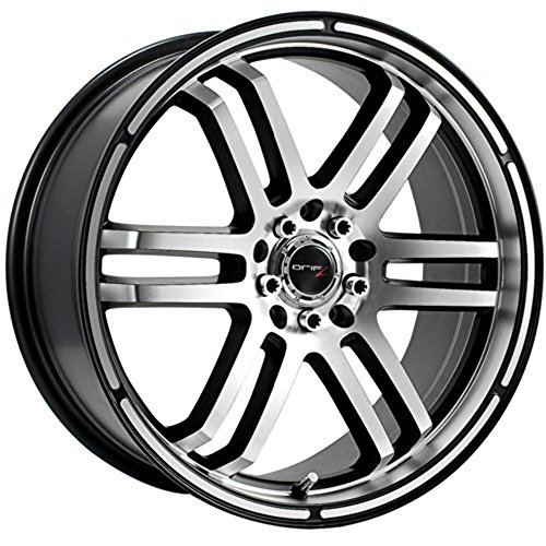 Drifz FX 15x6.5 Silver Wheel / Rim 5x100 & 5x4.5 with a 42mm Offset and a 73.00 Hub Bore. Partnumber 207MB-5651842 (Toyota Corolla 2007 Rims compare prices)