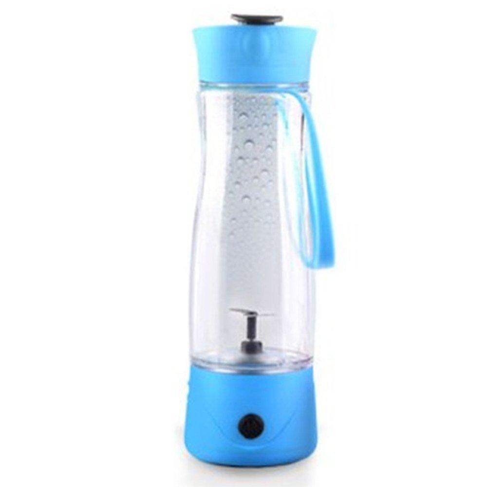 Goodid Exprimidor Eléctrico Licuador con Batidor Portatil, Mini Batidor de Fruta de Alta Potencia (Azul): Amazon.es: Hogar