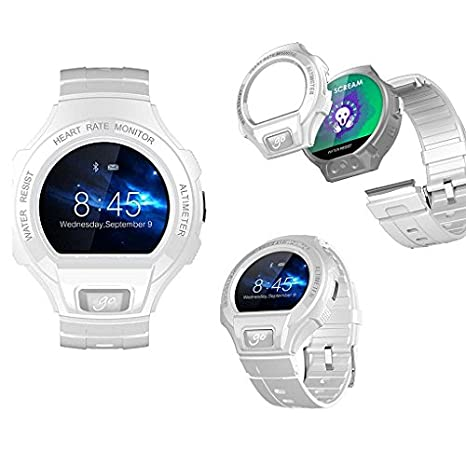 RELOJ SMART ALCATEL GO WATCH SM.03 BLANCO: Amazon.es ...