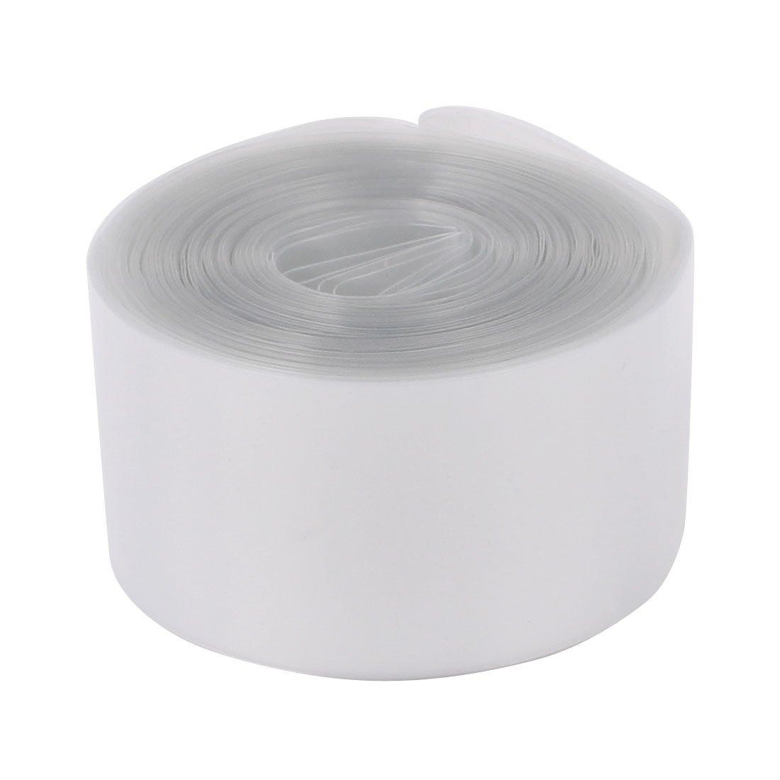 300P KEESIN 29.5mm flache PVC-Schrumpfschlauch-Batterie-Verpackungs 12 Farben 300 St/ücke f/ür 18650 18500 Batterie