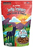 Bounty Bites Jerky Trainers with Bacon & Cheese – Soft USA Made Whole Food Benefit Meaty Low Calorie Training Treats 4 OZ For Sale