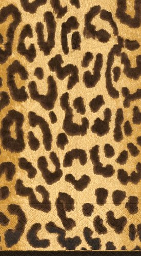 Hand Towels or Paper Guest Towels Leopard Animal Print 30 Co