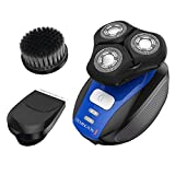 Best Electric Shaver for Men Remington XR1400 Verso Wet & Dry Men's Shaver & Trimmer Grooming Kit, Men's Electric Razor, Facial Cleaning Brush, Beard Trimmer