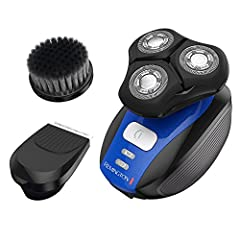 Remington Verso is the complete solution for men's shaving, grooming, and cleansing needs. This must have tool features everything you need for a complete grooming routine: Cleansing brush, Shaver and Trimmer. The triple-head rotary shaver is...