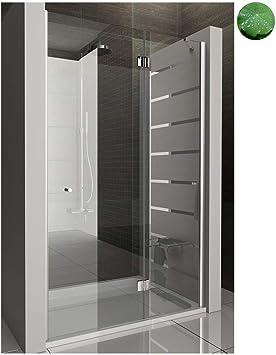 Puerta de ducha nichos para puerta 120 x 195 Mampara de ducha cabina con cristal los arañazos ducha colgante para puerta: Amazon.es: Bricolaje y herramientas