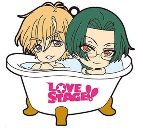LOVE STAGE !! bus deformation rubber strap Kiyoshimizuumi & Rei