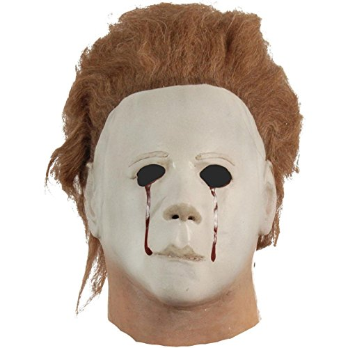 Halloween 2 Myers (Trick Or Treat Studios Men's Halloween II Blood Tears, Multi, One)