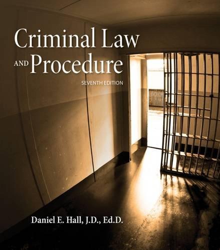 Criminal Law+Procedure Text