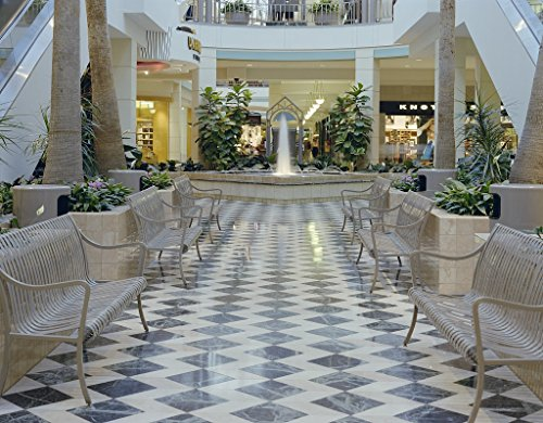 24 x 36 Giclee print of Tysons Corner Center shopping mall Tysons Corner Virginia r99 between 1980 and 1990 by Highsmith, Carol - Tysons Shopping Mall Corner