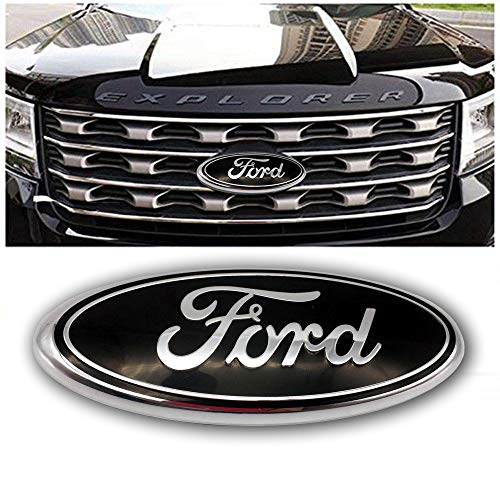 2004-2014 Ford F150 Front Grille Tailgate Ford Emblem, Oval 9