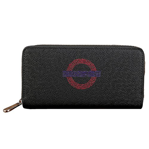 - Men's & Women's Mind The Gap Catalog London Cross PU Leather Long Purse Zipper Wallet Money Purse