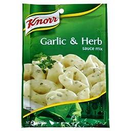 Unilever Bestfoods Knorr Pasta Sauce Garlic Herb - 1.6 ounce -- 12 Per Case