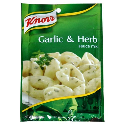Garlic and Herbe Sauce Mix 1.60 Ounces (Case of 12) ()