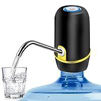 Dispensador de agua automático, ANNA TOSANI bomba de agua electrica inalámbrica ,rapida bombeo agua, potable Botella de Galón Universal Interruptor de Dispensador de la Bomba de Agua para interior y exterior