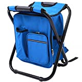 Genenic Fishing Backpack Chair,Portable Camping...