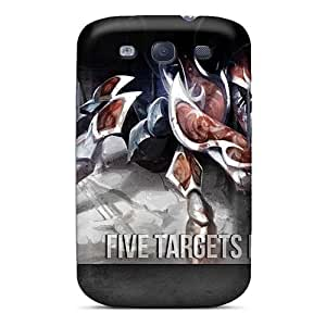 Shock-Absorbing Hard Phone Cases For Samsung Galaxy S3 (Ler5735JPPR) Customized Stylish Breaking Benjamin Skin