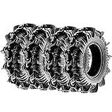used 14 inch atv rims - TERACHE Aztex 30x9-14 8 Ply ATV UTV A/T Tires, [Set of 4]