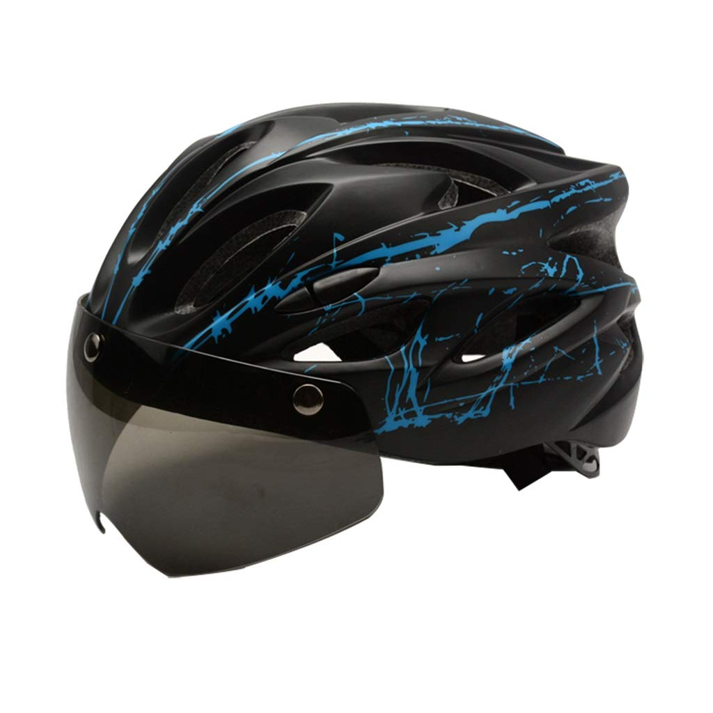 Equipo al Aire Libre del Montar a Caballo Casco Integrado de la Bici de monta/ña MEIEI Casco magn/ético de Las Gafas del Montar en Bicicleta Unisex