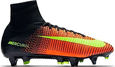 best website bf93c 2517f Image Unavailable. Image not available for. Color  Nike Mercurial Superfly  V SG-PRO Soccer Cleats Size 12 Crimson Black ...