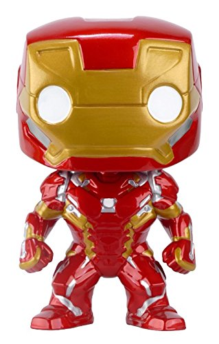 Funko POP Marvel: Captain America 3: Civil War Action Figure - Iron Man (Pop Captain America Marvel Funko)