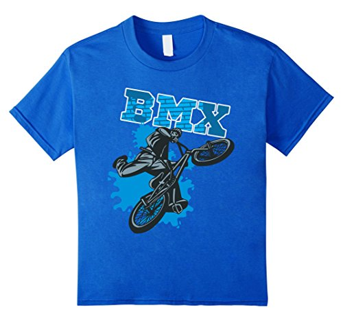 Kids BMX Freestyle T-Shirt 8 Royal Blue