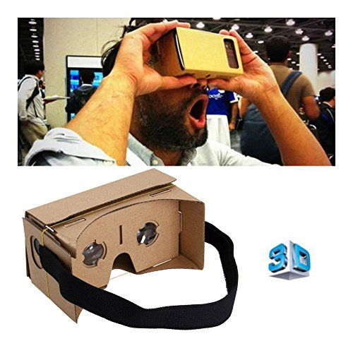 Cardboard VR BOX 3D Glasses Virtual Reality For iPhone Android