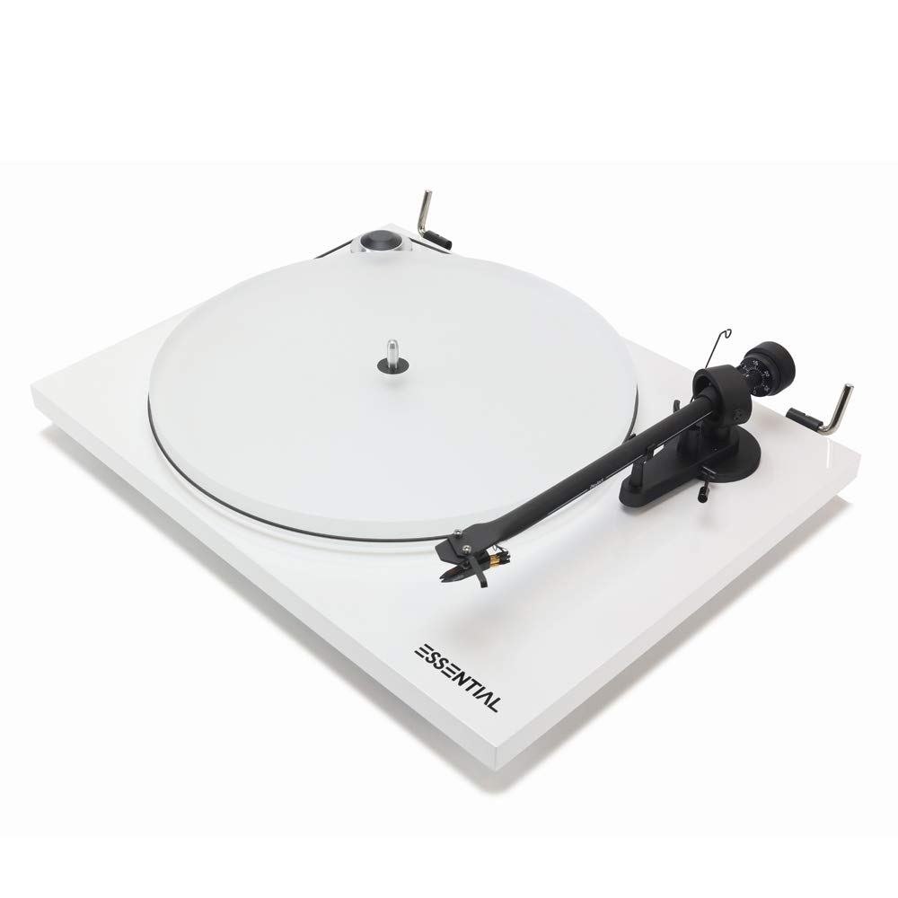 Pro-Ject Essential III audiophiler Tocadiscos con Brazo + Ortofon ...