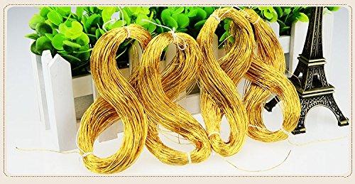 goldthread 100/% Seda hilo bordado para Goldwork dorado met/álico y bordado a mano 70/meter