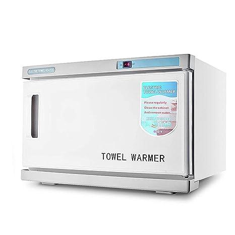 2 En 1 UV Esterilizador De Toallas 16L Calentador Caliente Toalla Gabinete De Desinfección Hogar Piel